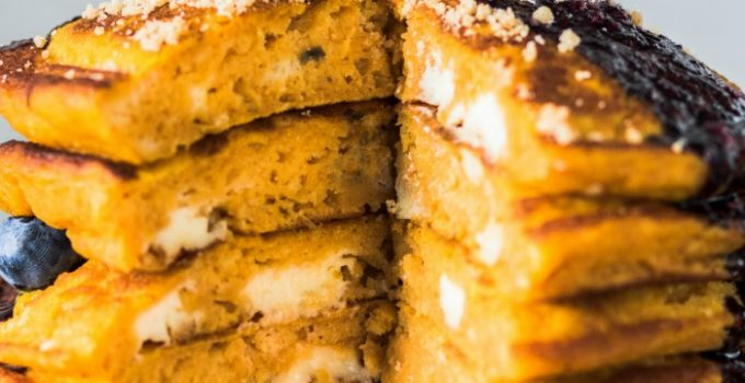Pumpkin Cheesecake Pancakes Recipe