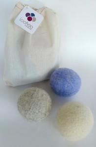 LooHoo Wool Dryer Balls starter pack