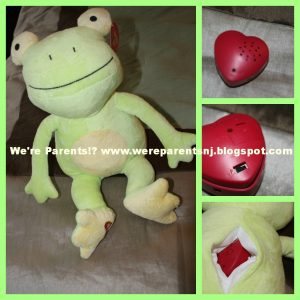 My Baby's Heartbeat Bear Frog Kit, pictures of inside and outside