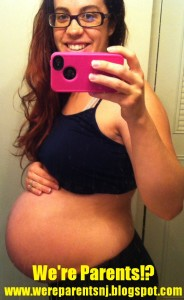 40 week pregnancy pic