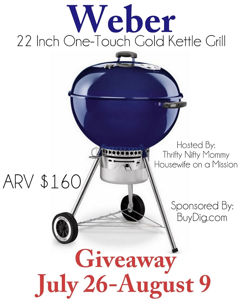 weber 22 inch one touch gold kettle grill giveaway we 39 re parents. Black Bedroom Furniture Sets. Home Design Ideas