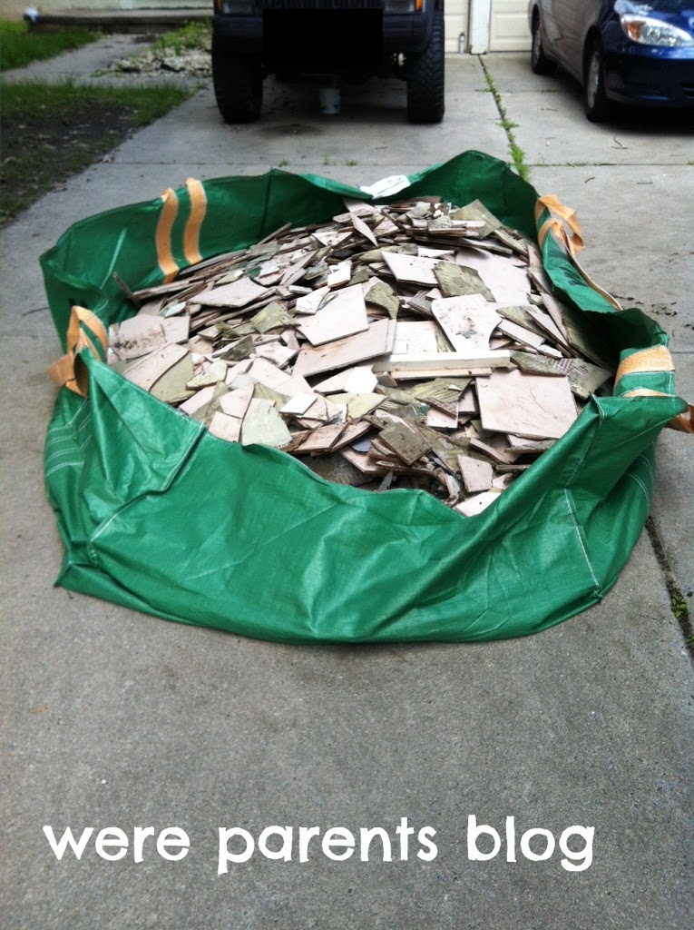 New Home Roots Waste Management Bagster Bag Review 75 Visa Gift Card Giveaway We Re Pas