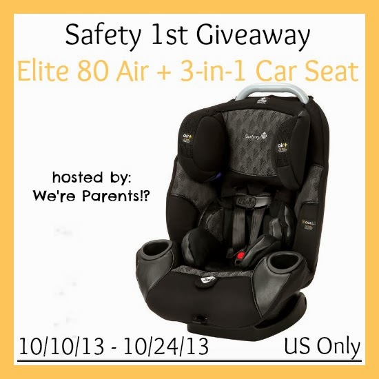 Safety 1st Elite 80 Air 3 In 1 Car Seat Review Giveaway Were