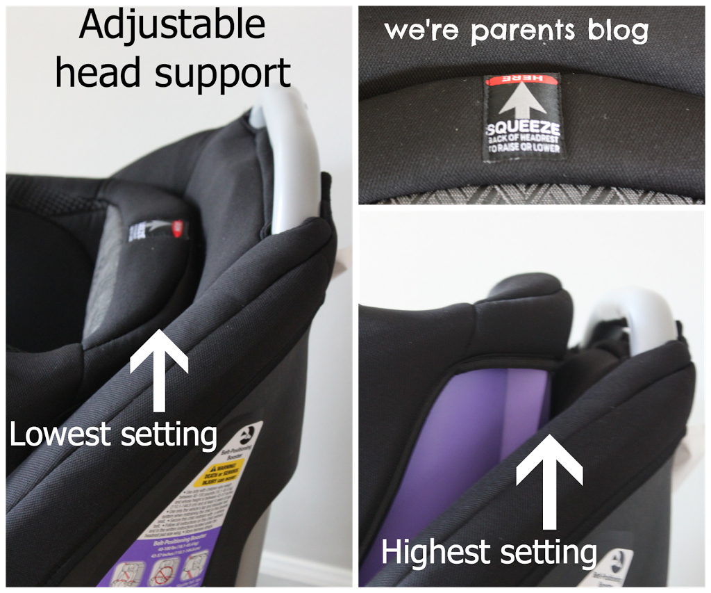 Safety 1st Elite 80 Air + 3-in-1 Car Seat Review & Giveaway - We're