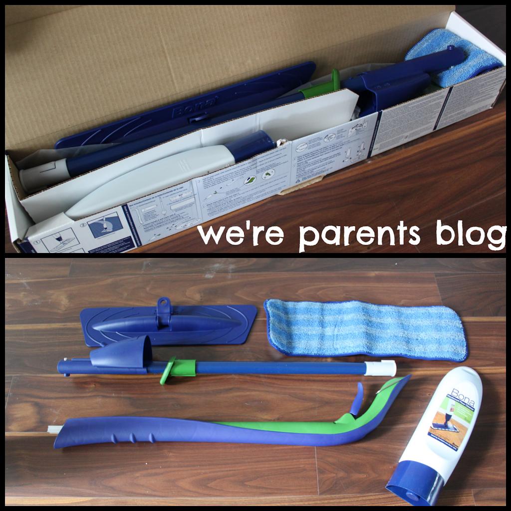 bona hardwood floor mop review - we're parents