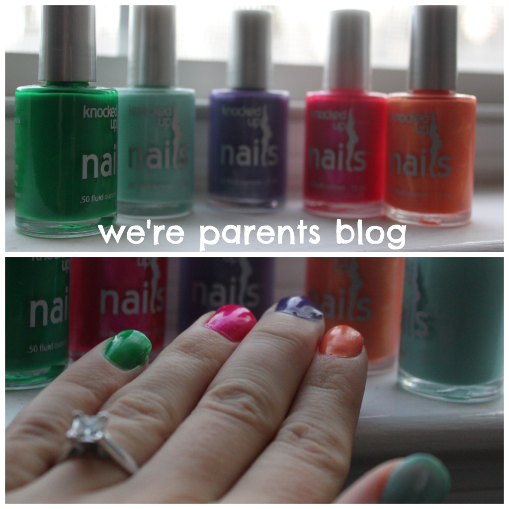 Knocked Up Nails Pregnancy Safe Nail Polish Review & Giveaway - We ...