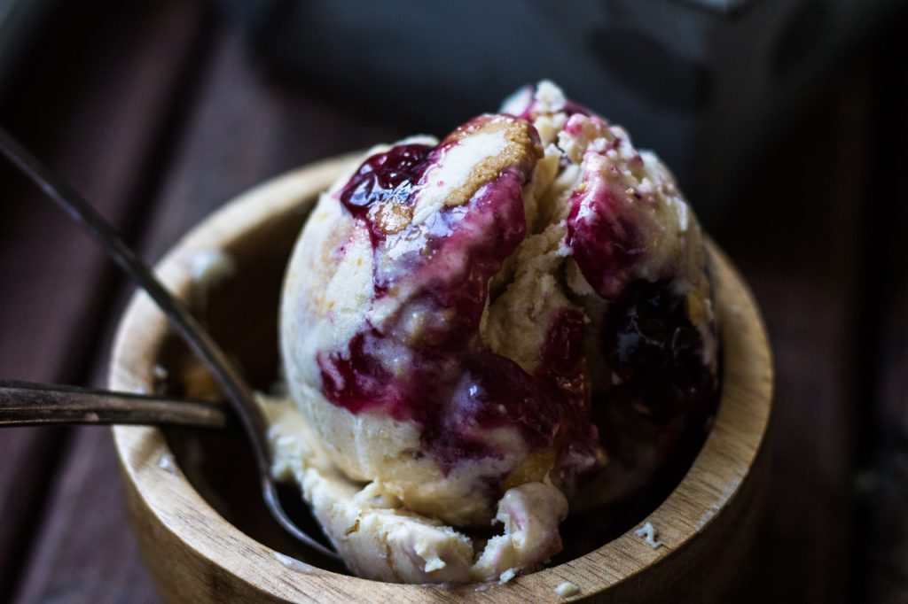 peanut butter jelly ice cream