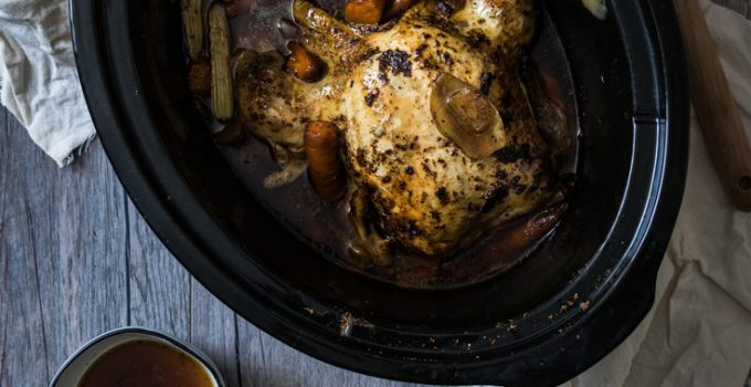How To Slow Cook A Whole Chicken