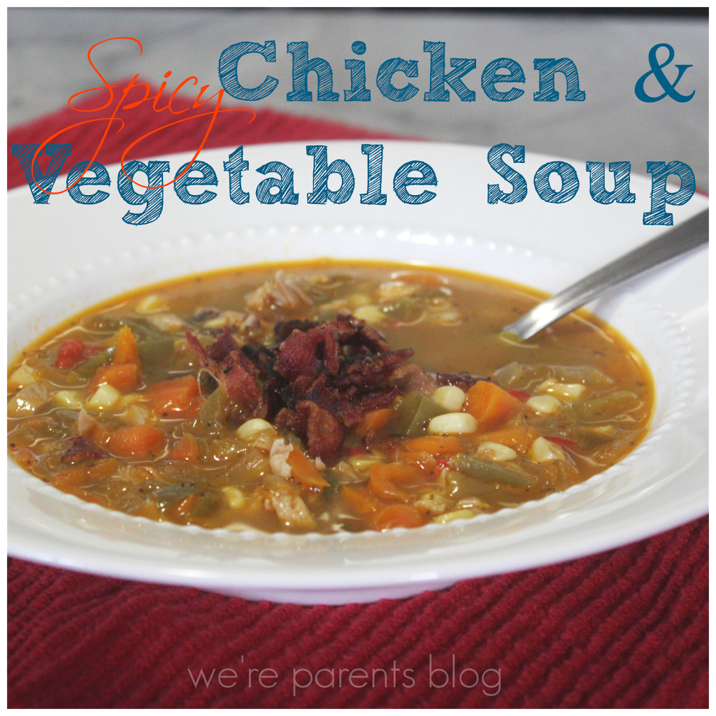 how to make chicken and vegetable soup