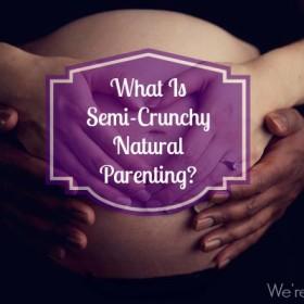 semi crunchy natural parenting