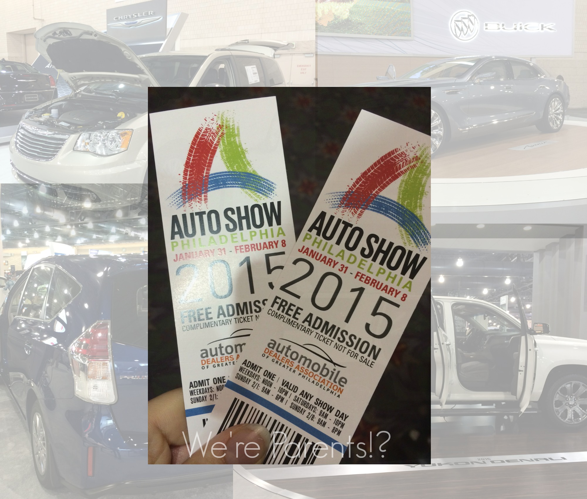 Philly Auto Show Were Parents - How much are the tickets for the car show
