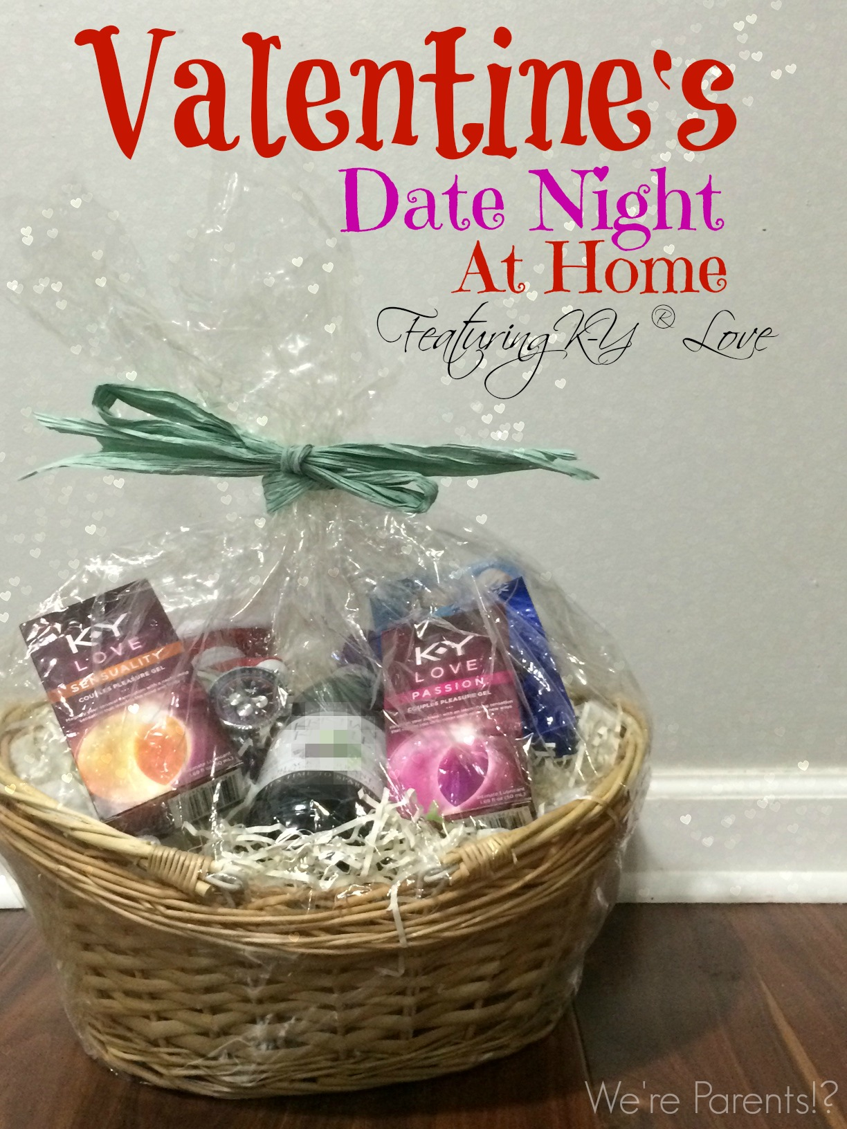 valentine s date night at home featuring k y love we re parents