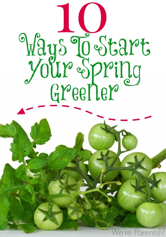 10 ways to start your spring greener
