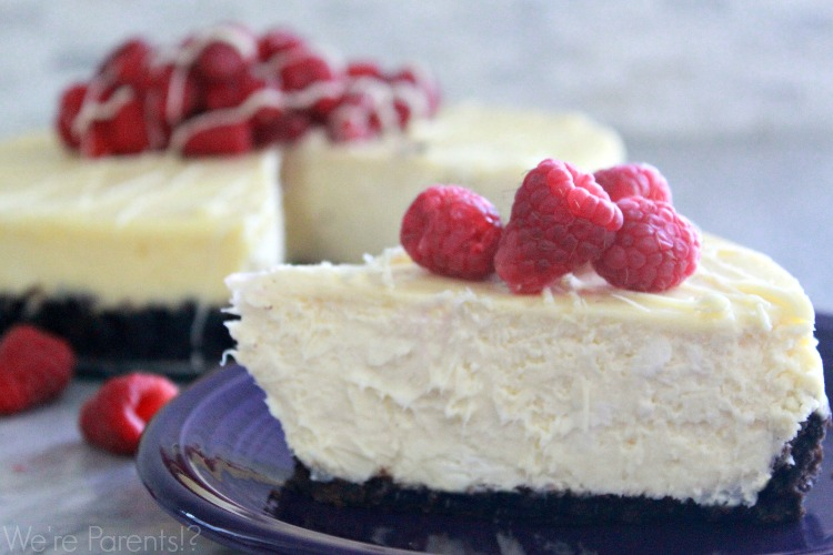 easy white chocolate cheesecake recipe
