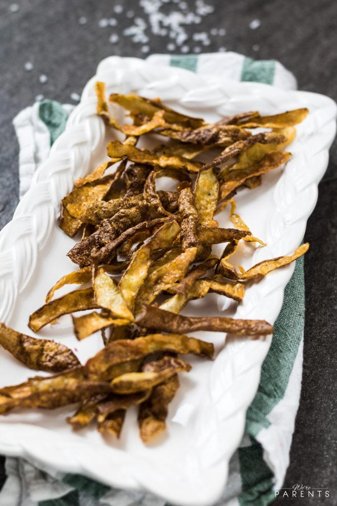 zero waste potato skins