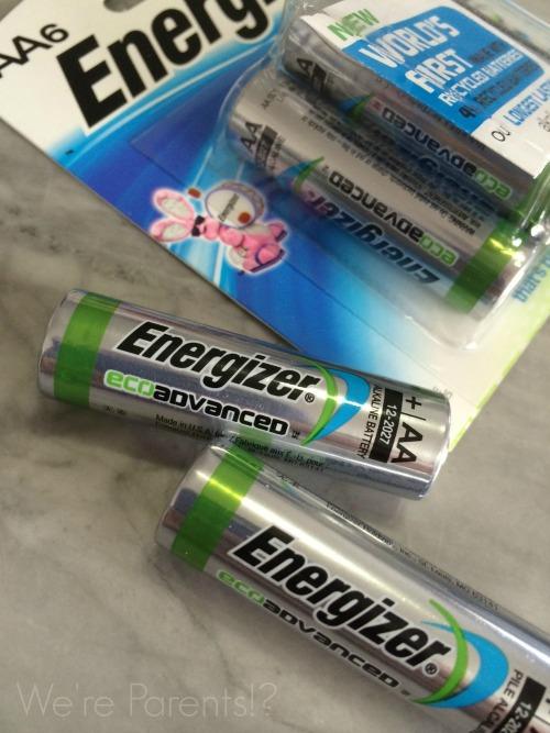 live greener energizer ecoadvanced batteries