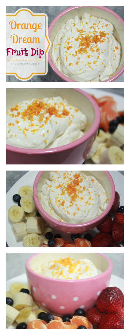 orange dream fruit dip