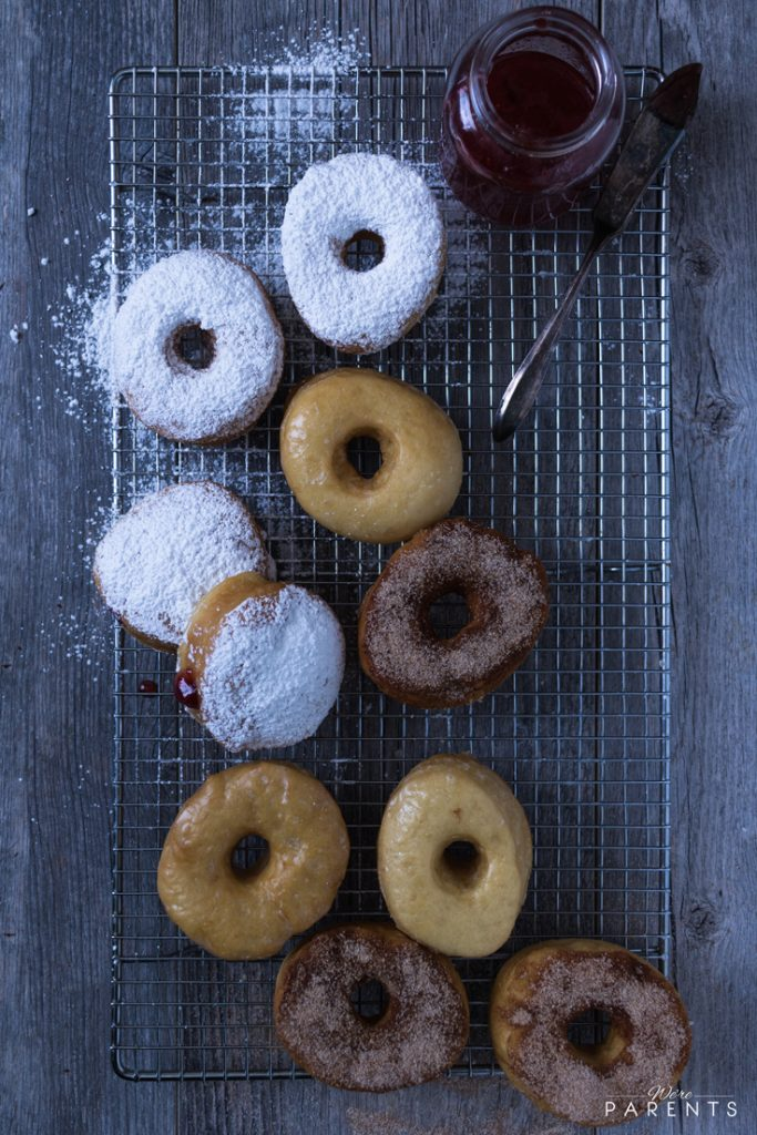 homemade doughnut recipe