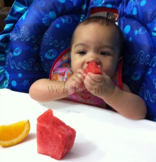 baby led weaning fruit