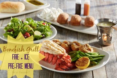 bonefish grill fire + ice menu