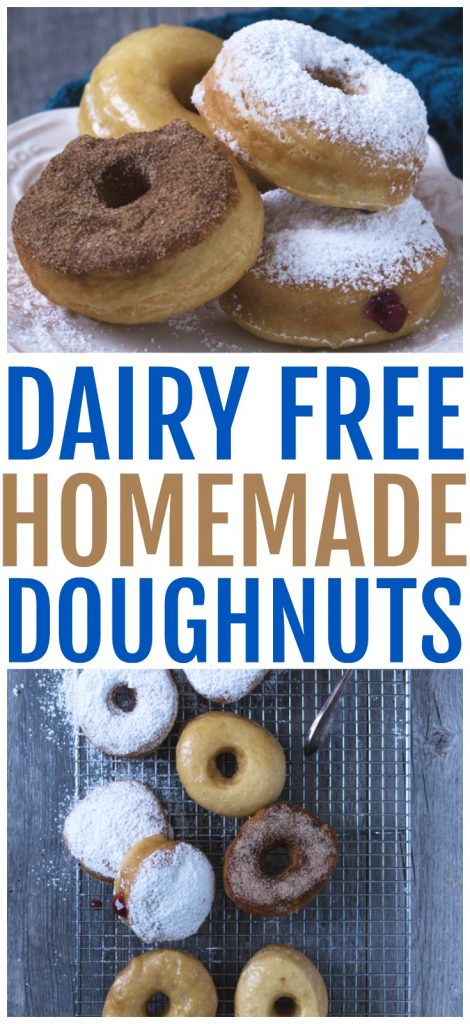 easy diary free homemade doughnuts recipe