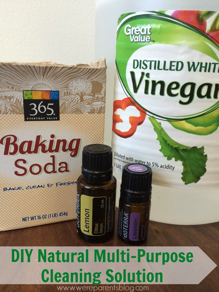 diy natural multi-purpose cleaning solution
