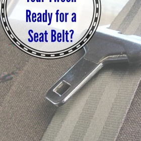 tween seat belt safety