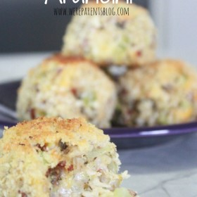 baked chicken cheese arancini