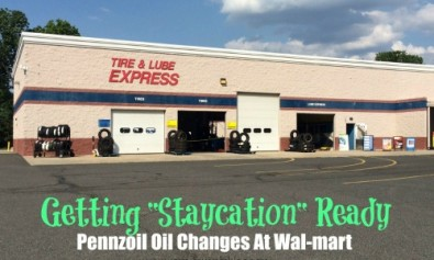 pennzoil oil change at walmart