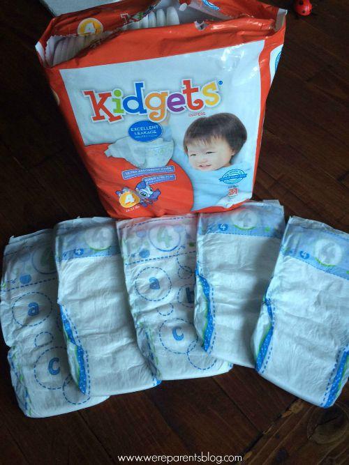 kidgets family dollar diapers