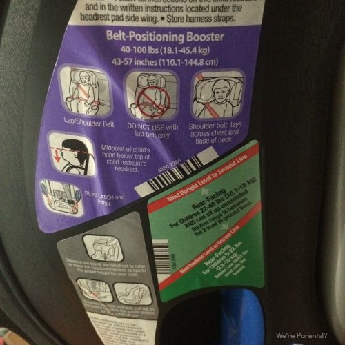 car seat limits