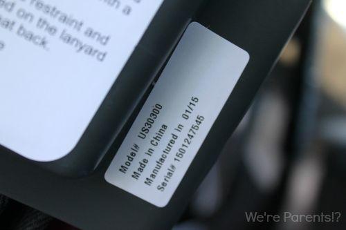 car seat manufacturer date