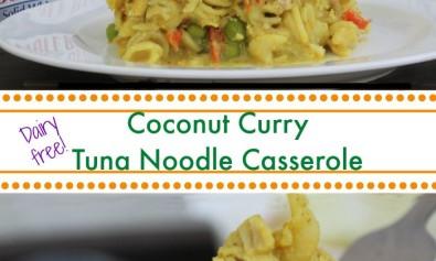 dairy free tuna noodle casserole