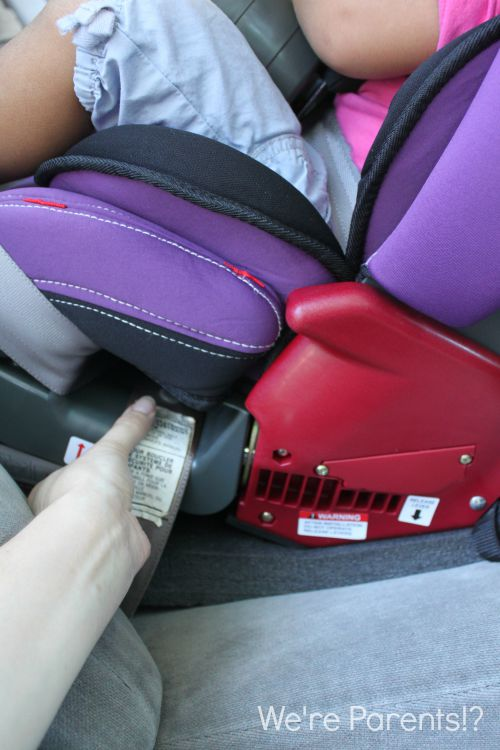 testing for car seat movement