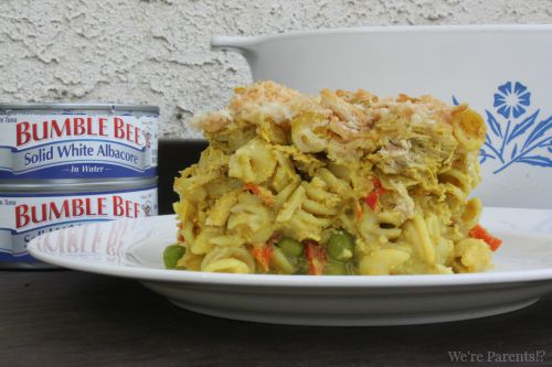 tuna noodle casserole dairy free bumble bee