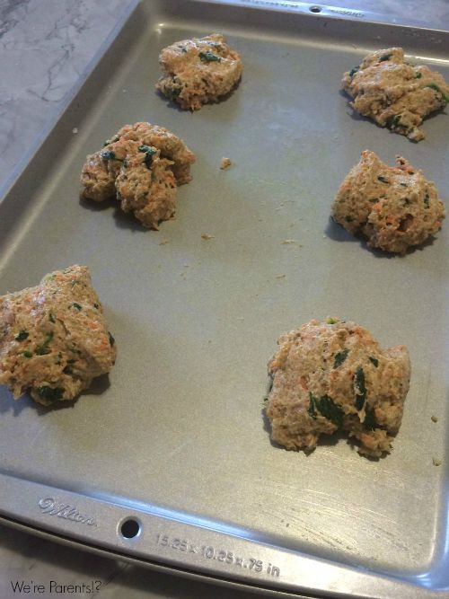 veggie quinoa biscuits