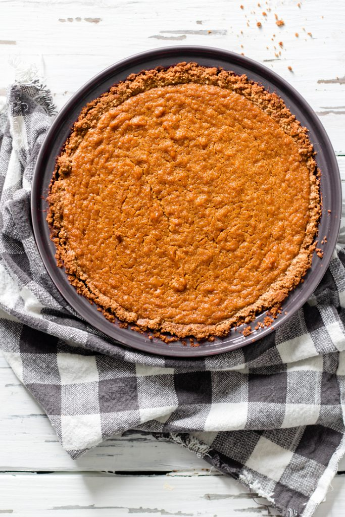 How to make sweet potato pie homemade