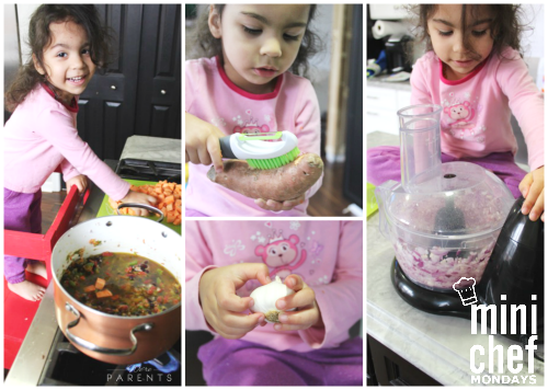 mini chef mondays making stew