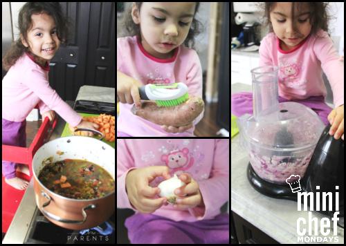 mini chef mondays making stew