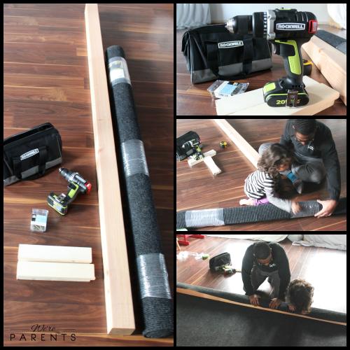 building a balance beam
