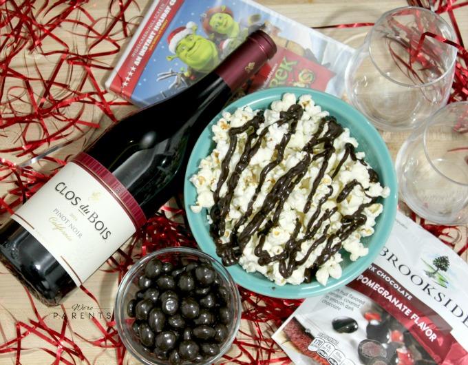date night at home idea brookside chocoalte