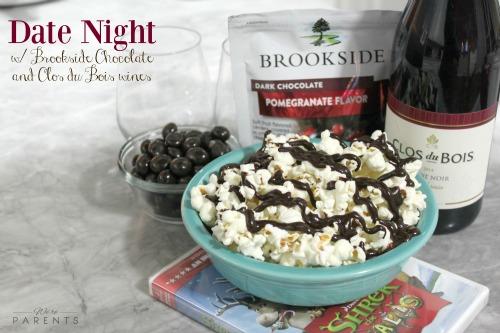 date night brookeside chocolate clos du bois wine
