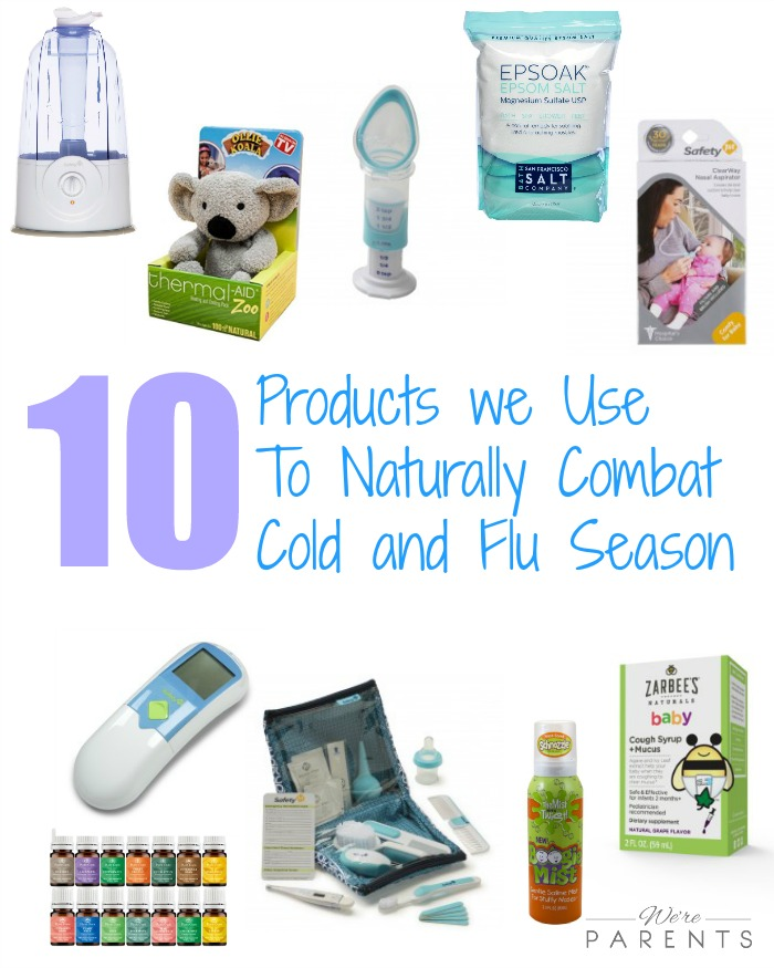 products to naturally combat cold and flu season