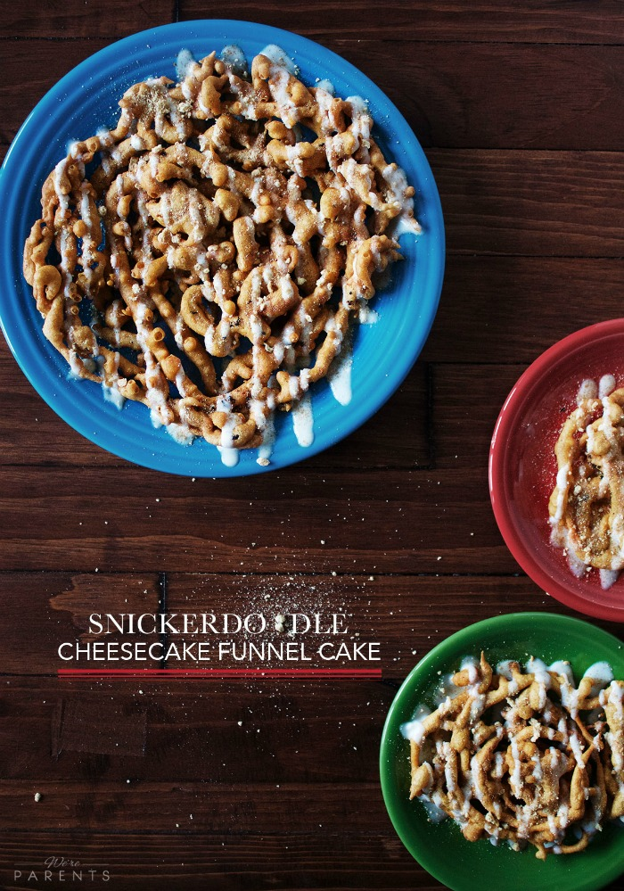 snickerdoodle cheesecake funnel cake recipe