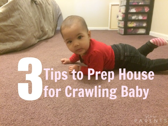 tips to prep house for crawling baby