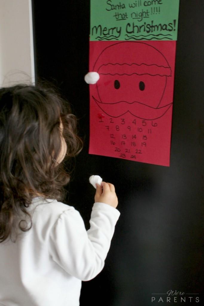 toddler advent calendar diy