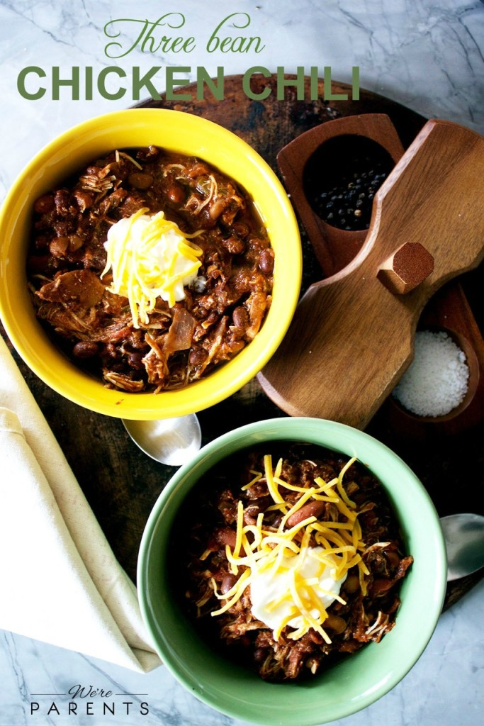 3 bean chicken chili