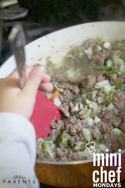 baked taco casserole mini chef mondays