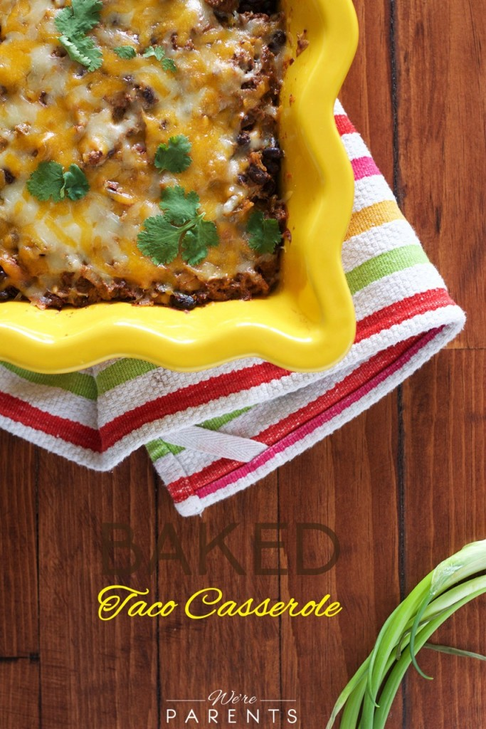 baked taco casserole recipe