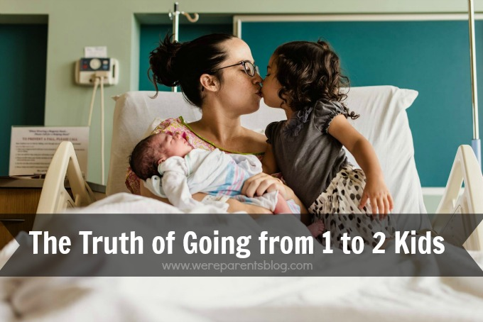 going from 1 to 2 kids